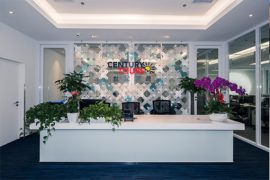 北京安信世纪国际旅行社办公室装修工程