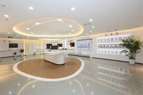 深圳市深信服电子科技有限公司办公室装修案例