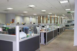 三星鹏泰北京总部办公室装修工程