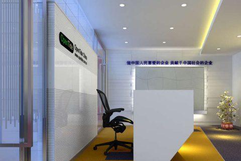 三星鹏泰(上海宏汇国际广场)办公室装修工程