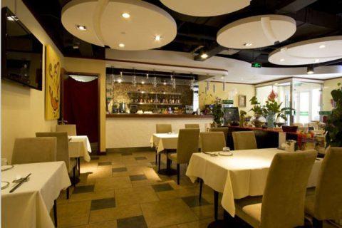 梧桐素餐厅装修工程
