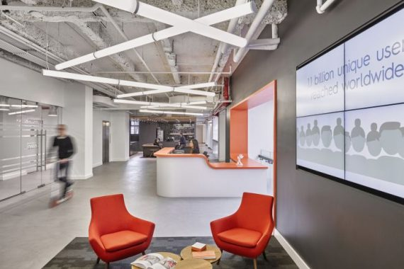 CRITEO办公室设计实景图