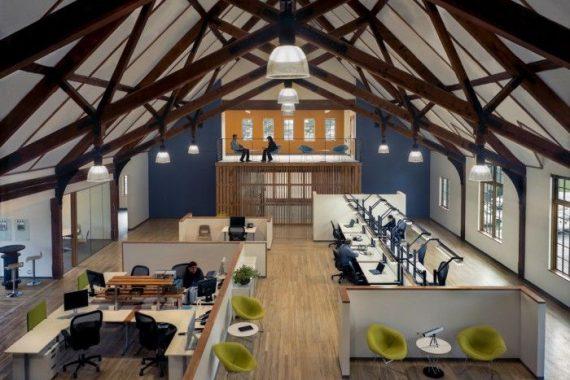 CID 公司LOFT风格办公室设计