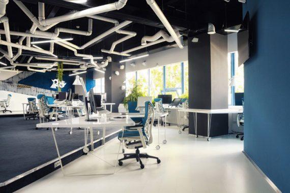 游戏工作室2O LOFT风格办公室设计