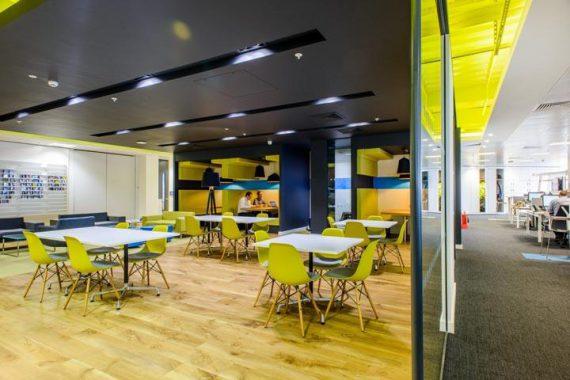 促进合作与创意思维Arup新办公室设计