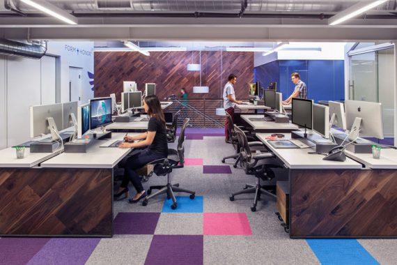Capacity—Burbank办公室